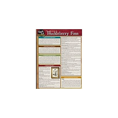 Barcharts Publishing Quicklit:The Adventures Of Huckleberry Finn Workbook, Grade 6 - Grade 12 [eBook]