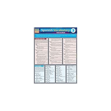 Barcharts Publishing Spanish Vocabulary 2: Intermediate Workbook By Expert Editions, Grade 10 - Grade 12 [eBook]