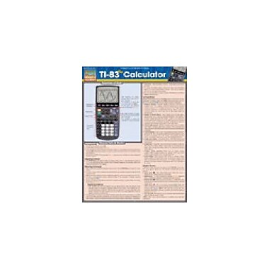 Barcharts Publishing Ti-83 Plus Calculator Workbook, Grade 6 - Grade 12 [eBook]