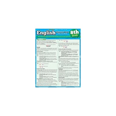 Barcharts Publishing English Common Core 8th Grade Workbook By Northeast Editing, Grade 8 [eBook]