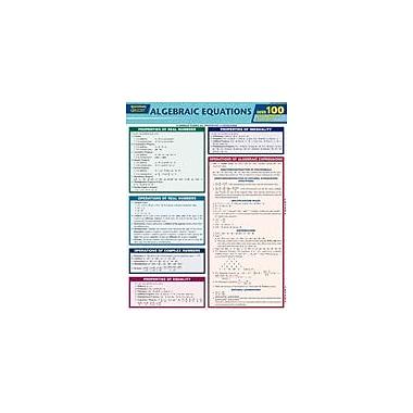 Barcharts Publishing Algebraic Equations Quizzer Workbook By Middlewood, Gavin; Debenham, Andrew, Grade 6 - Grade 12 [eBook]