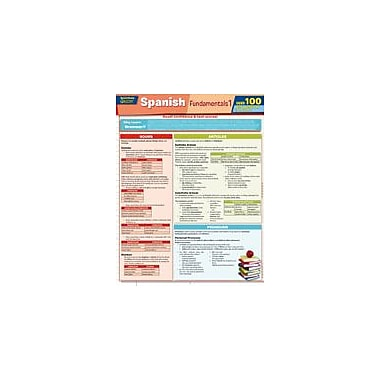 Barcharts Publishing Spanish Fundamentals 1 Quizzer Workbook By Hales, John, Grade 2 - Grade 12 [eBook]