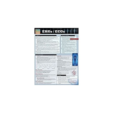Barcharts Publishing Ekgs/Ecgs Workbook By Farach, Lisa, Grade 11 - Grade 12 [eBook]