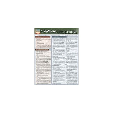 Barcharts Publishing Criminal Procedure Workbook By Sochay, Scott, Grade 6 - Grade 12 [eBook]