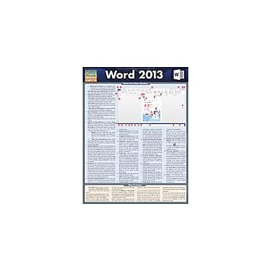 Barcharts Publishing Word 2013 Workbook, Grade 3 - Grade 12 [eBook]