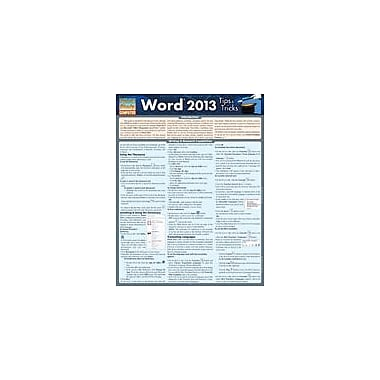 Barcharts Publishing Word 2013 Tips & Tricks Workbook, Grade 4 - Grade 12 [eBook]