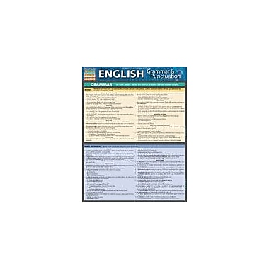Barcharts Publishing English Grammar And Punctuation Workbook By Evans-Marshall, Shelley, Grade 7 - Grade 12 [eBook]