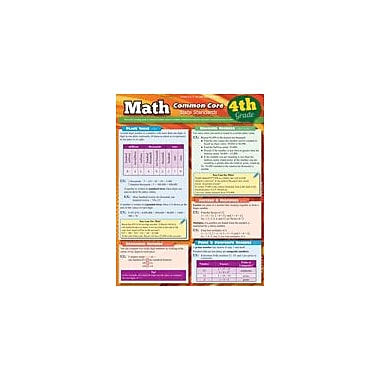 Barcharts Publishing Math Common Core 4th Grade Workbook By Hales, John, Grade 4 [eBook]