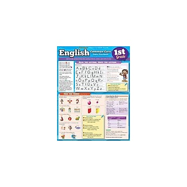 Barcharts Publishing English Common Core 1st Grade Workbook, Grade 1 [eBook]