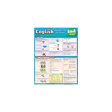 Barcharts Publishing English Common Core 2nd Grade Workbook, Grade 2 [eBook]