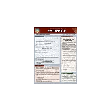 Barcharts Publishing Evidence Workbook By Warnick, Theresa, Grade 6 - Grade 12 [eBook]