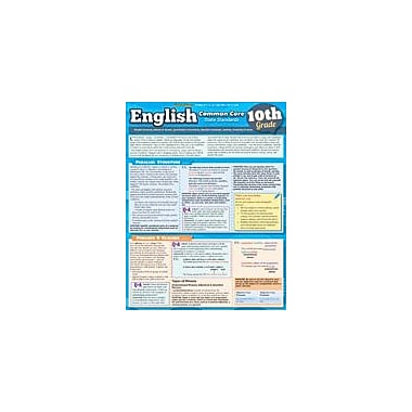 Barcharts Publishing English Common Core 10th Grade Workbook By Behara, Ravi, Grade 10 [eBook]