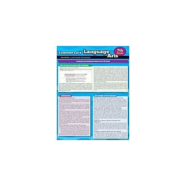 Barcharts Publishing CCSS: Language Arts 7th Grade Workbook By Almquist, Kathryn, Grade 7 [eBook]