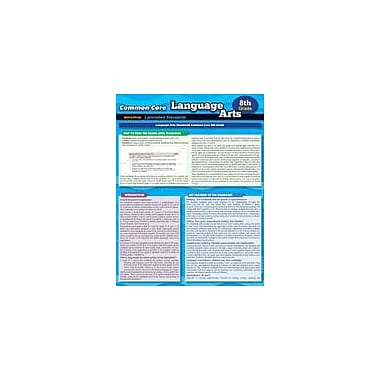 Barcharts Publishing CCSS: Language Arts 8th Grade Workbook By Expert Editions, Grade 8 [eBook]