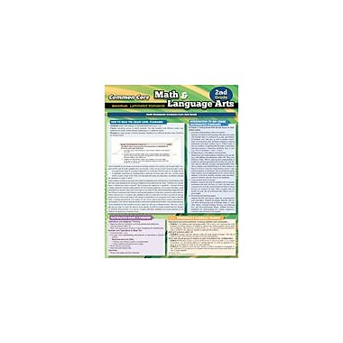 Barcharts Publishing CCSS: Math & Language Arts 2nd Grade Workbook By Smith, M.Div., Thomas, Grade 2 [eBook]