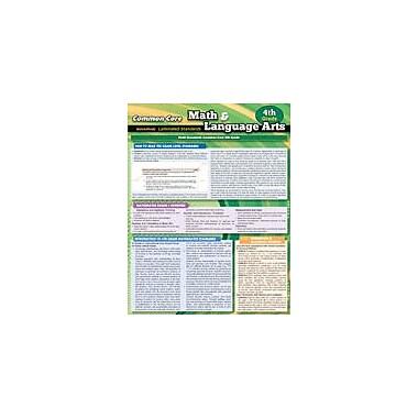 Barcharts Publishing CCSS: Math & Language Arts 4th Grade Workbook, Grade 4 [eBook]
