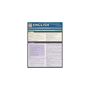 Barcharts Publishing English Composition & Style Workbook By Hales, John, Grade 2 - Grade 12 [eBook]