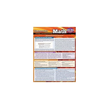 Barcharts Publishing CCSS: Math 6th To 8th Grade Workbook By Perez, Vincent, Grade 6 - Grade 8 [eBook]