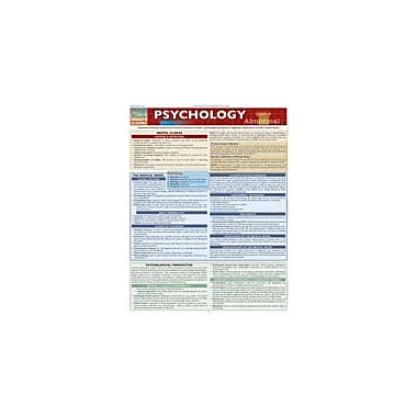 Barcharts Publishing Psychology:Abnormal Workbook By Riley, Gail, Grade 9 - Grade 12 [eBook]