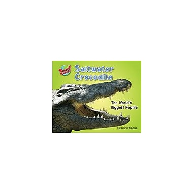 Bearport Publishing Saltwater Crocodile: The World's Biggest Reptile Workbook, Kindergarten - Grade 3 [eBook]