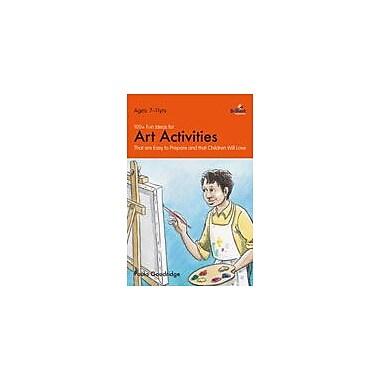 Brilliant Publications 100+ Fun Ideas For Art Activities Workbook By Goodridge, Paula, Grade 3 - Grade 6 [eBook]