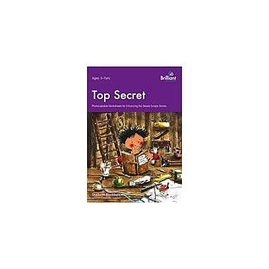 Brilliant Publications Top Secret - Stewie Scraps Teacher Resource Workbook By Blackburn, Sheila, Grade 3 - Grade 6 [eBook]