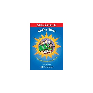 Brilliant Publications Brilliant Activities For Reading Fiction Workbook By Stevenson, May, Grade 3 - Grade 6 [eBook]