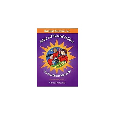 Brilliant Publications Brilliant Activities For Gifted And Talented Workbook By Mccabe-Mowat, Ashley, Grade 3 - Grade 6 [eBook]