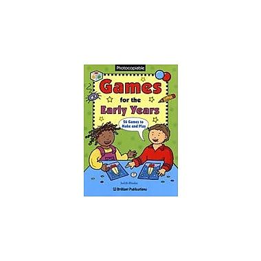 Brilliant Publications Games For The Early Years Workbook By Rhodes, Judith, Preschool - Kindergarten [eBook]