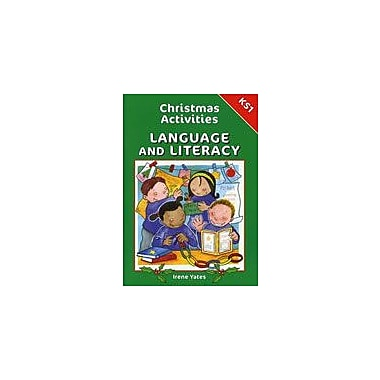 Brilliant Publications Christmas Activities For Language And Literacy (Grades K-1) Workbook, Kindergarten - Grade 2 [eBook]