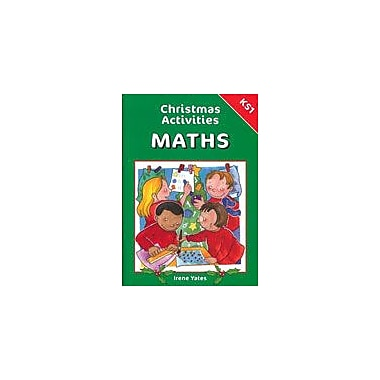 Brilliant Publications Christmas Activities For Math (Grades K-2) Workbook By Yates, Irene, Kindergarten - Grade 2 [eBook]