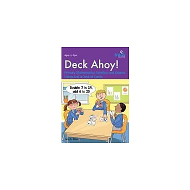 Brilliant Publications Deck Ahoy! Maths Activities With A Deck Of Cards Workbook By Janet Stone, Grade 1 - Grade 6 [eBook]