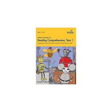 Brilliant Publications Brilliant Activities For Reading Comprehension: Year 1 Workbook, Grade 1 - Grade 2 [eBook]