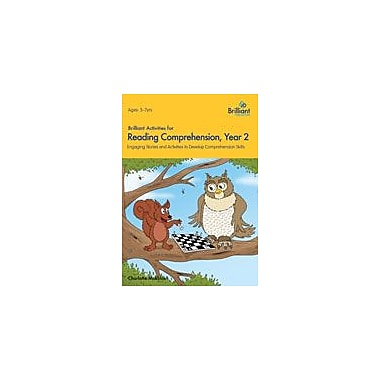 Brilliant Publications Brilliant Activities For Reading Comprehension: Year 2 Workbook, Grade 2 - Grade 3 [eBook]