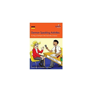 Brilliant Publications German Speaking Activities Workbook By Leleu, Sinad [eBook]