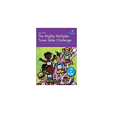 Brilliant Publications The Mighty Multiples Times Table Challenge (Book & MP3 Bundle) Workbook [eBook]