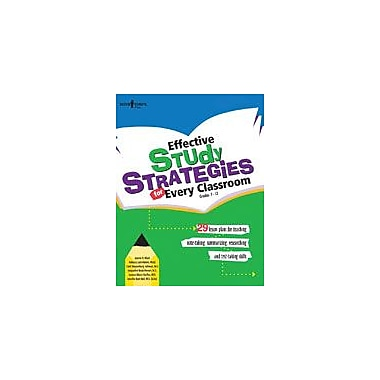 Boys Town Press Effective Study Strategies For Every Classroom Workbook By Mace, Karise, Grade 3 - Grade 12 [eBook]