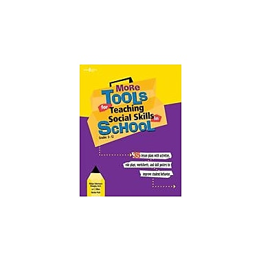 Boys Town Press More Tools For Teaching Social Skills In School Workbook By O'Brien, Patrick, Grade 3 - Grade 12 [eBook]