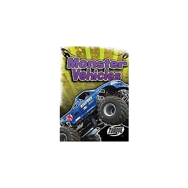 Bellwether Media Inc. Monster Vehicles Workbook By Sally Derby, Grade 3 - Grade 7 [eBook]