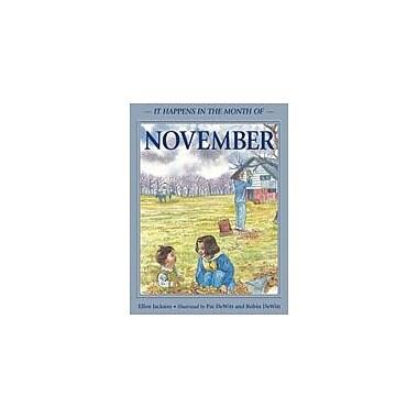 Charlesbridge Publishing It Happens In The Month Of November Workbook By Jackson, Ellen, Grade 2 - Grade 5 [eBook]