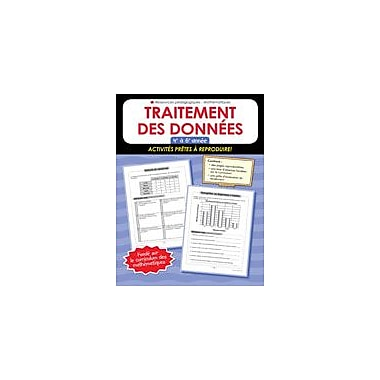 Chalkboard Publishing Traitement Des Donnees 4-6 Workbook, Grade 4 - Grade 6 [eBook]