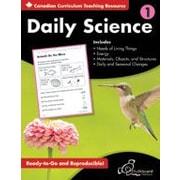 Chalkboard Publishing - Daily Science : Cahier d'exercices (version canadienne), 1re année [livre numérique]