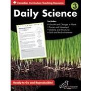 Chalkboard Publishing - Daily Science : Cahier d'exercices (version canadienne), 3e année [livre numérique]