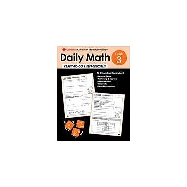 Chalkboard Publishing - Manuel Canadian Daily Math Grade 3 [livre numérique]