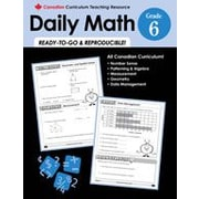 Chalkboard Publishing Canadian Daily Math Grade 6 Workbook [eBook]