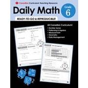 Chalkboard Publishing - Manuel Canadian Daily Math, 6e année [livre numérique]