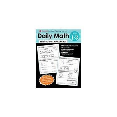 Chalkboard Publishing - Manuel Canadian Daily Math 1-3, 1re à 3e année [livre numérique]