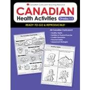 Chalkboard Publishing Canadian Health Activities 1-3 Workbook, Grade 1 - Grade 3 [eBook]