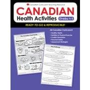 Chalkboard Publishing Canadian Health Activities 4-6 Workbook, Grade 4 - Grade 6 [eBook]
