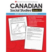 Chalkboard Publishing Canadian Social Studies 1-3 Workbook, Grade 1 - Grade 3 [eBook]